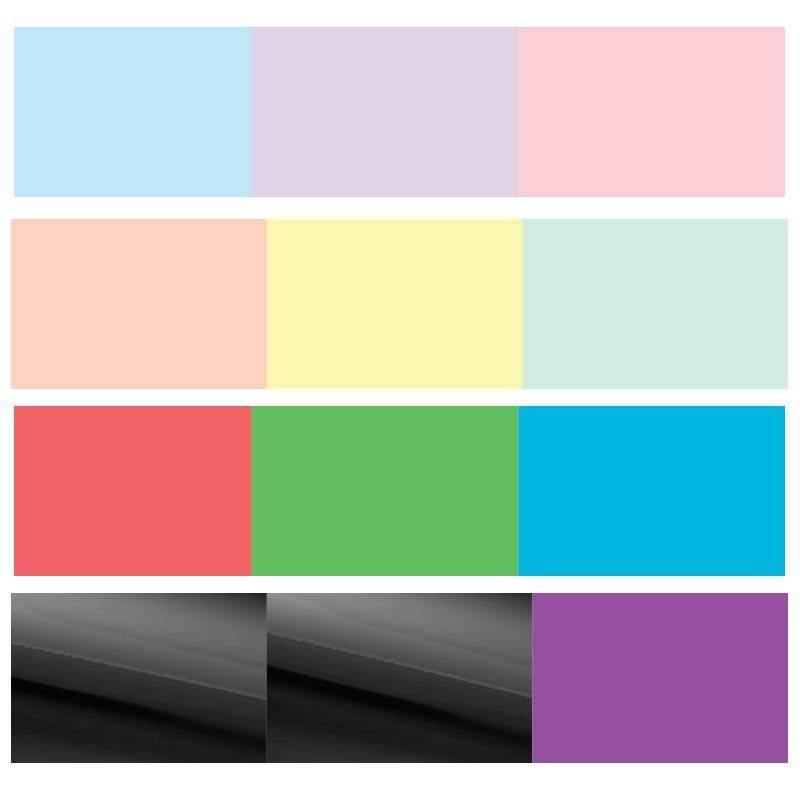 0014e81652 Specrtum Noir Sparkle csillámos ecsetfilc 12 db-os készlet, Tavasz-nyár