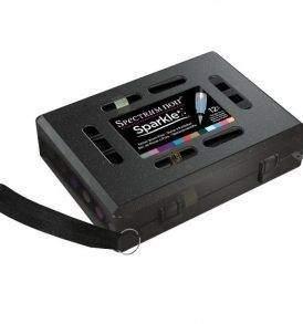 Spectrum Noir csillámos ecsetfilc készlet 12db-os