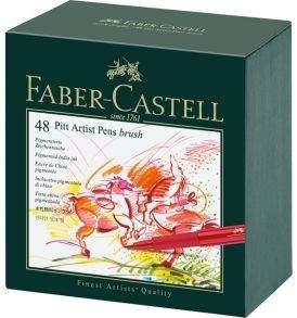Faber-Castell Pitt ecsetfilc készlet, 48 db-os