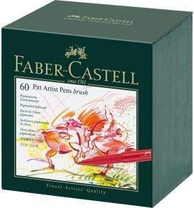 Faber-Castell Pitt ecsetfilc készlet, 60 db-os