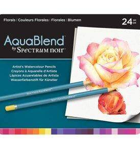 Spectrum Noir AquaBlend a virágok színei