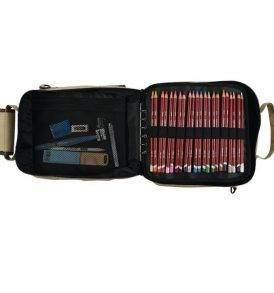 """Derwent ceruzatartó táska """"Carry All"""", nyitott"""