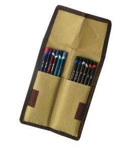 Derwent zsebes textil ceruzatartó nyitott