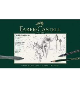 Faber-Castell Pitt grafit készlet 26 db-os, fémdobozos