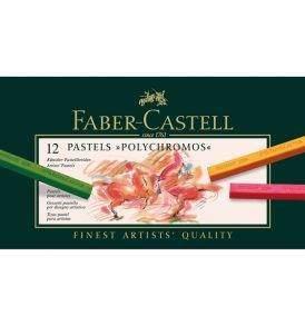 Faber-Castell Polychromos pasztellkréta 12 db-os