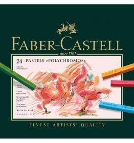 Faber-Castell Polychromos pasztellkréta 24 db-os készlet