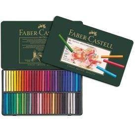 Faber-Castell Polychromos pasztellkréta, 60 db-os készlet, nyitott doboz
