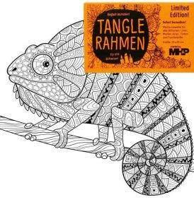 Színező vászon kameleon (20x20)