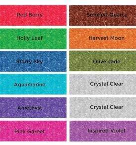 Spectrum Noir 12db-os csillámos ecsetfilc készlet ősz tél árnyalatok