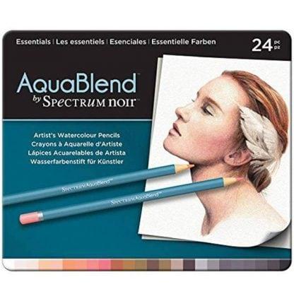Spectrum Noir AquaBlend akvarell készet alapszínek