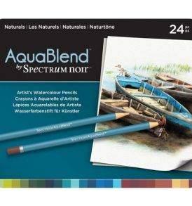 Spectrum Noir AquaBlend akvarell készlet a természet színei