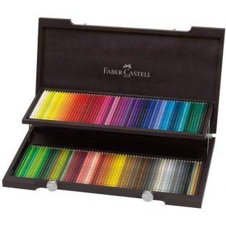 Faber-Castell Polychromos 120 db-os fadobozos készlet