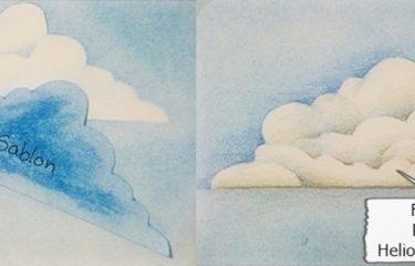 Háttér színezés - Felhő színezés
