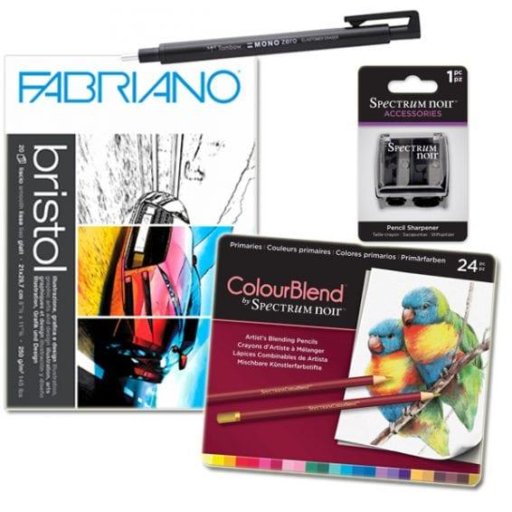 színesceruzás rajz csomag