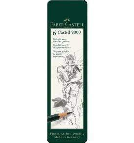 Faber-Castell Castell9000 grafitceruza-készlet 6db-os