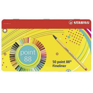 Stabilo Point 88 tűfilc 50 db-os készlet
