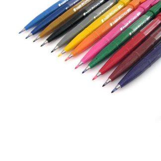 Pentel Touch Sign Pen ecsetfilc 12 színben