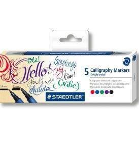 Staedtler kalligrafikus marker 5 db-os készlet