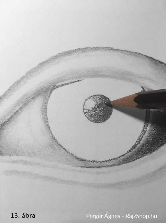 Hogyan rajzoljunk szemet a divatfiguráira