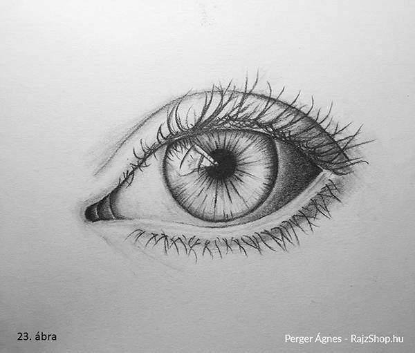 Így rajzold meg a tökéletesen élethű szemet! - RajzShop.hu
