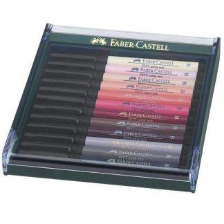 Faber-Castell Pitt ecsetfilc 12 db-os, Bőrszínek
