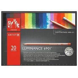 Caran d'Ache Luminance 20 db-os színes ceruza készlet