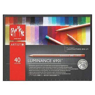 Caran d'Ache Luminance 40 db-os színes ceruza készlet