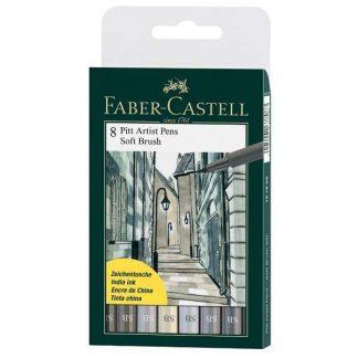Faber Castell puha ecsetfilc 8 db-os