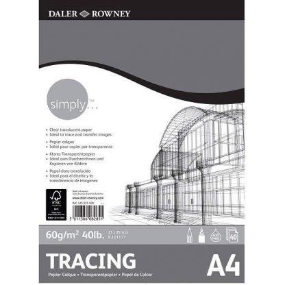 Daler-Rowney pauszpapír tömb