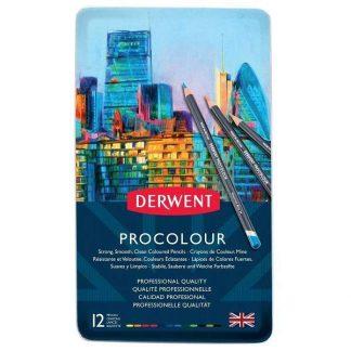Derwent Procolour 12 db-os készlet