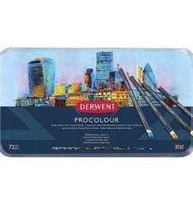 Derwent Procolour 72 db-os készlet