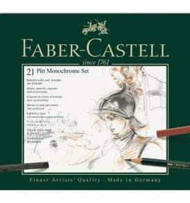 Faber-Castell Pitt Monochrome 21 db-os készlet