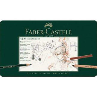 Faber-Castell Pitt Monochrome 33 db-os készlet