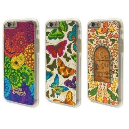 Johanna Basford színezhető telefon tok