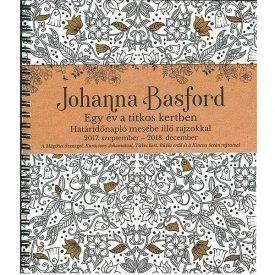 Johanna Basford határidőnapló 2017-2018