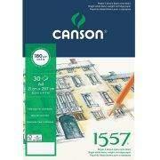 Canson 1557 rajztömb 180g, A4 méret