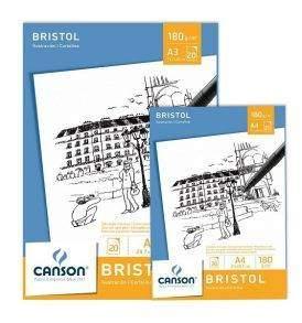 Canson Bristol rajztömb A3-A4
