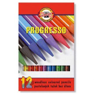 Koh-I-Noor Progresso 12 db-os színesceruza