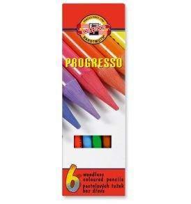 Koh-I-Noor Progresso 6 db-os színesceruza