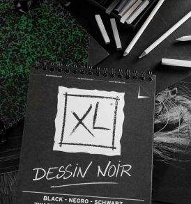 Canson XL Design Noir fekete rajztömb