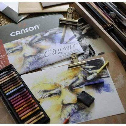 Canson C-a-grain tömbök