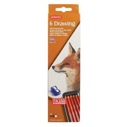 Derwent Drawing színes ceruza 6 db