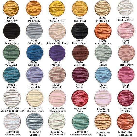 Finetec Pearlcolor 36 szín