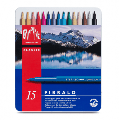 Caran d'Ache Fibralo akvarell filctoll 15 db