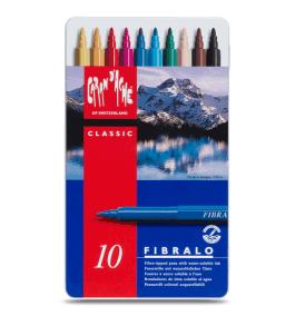 Caran d'Ache Fibralo akvarell filctoll 10 db