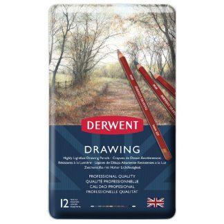 Derwent Drawing, 12 db-os készlet
