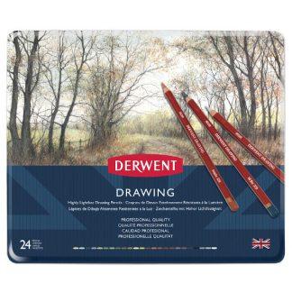 Derwent Drawing, 24 db-os készlet