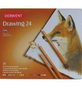 Derwent Drawing 12 db-os színes ceruza készlet