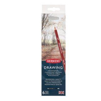 Derwent Drawing, 6 db-os készlet