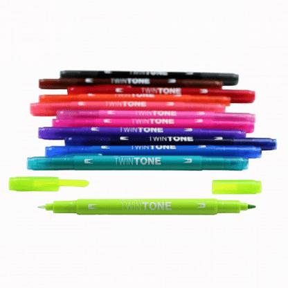 Tombow TwinTone élénk színek